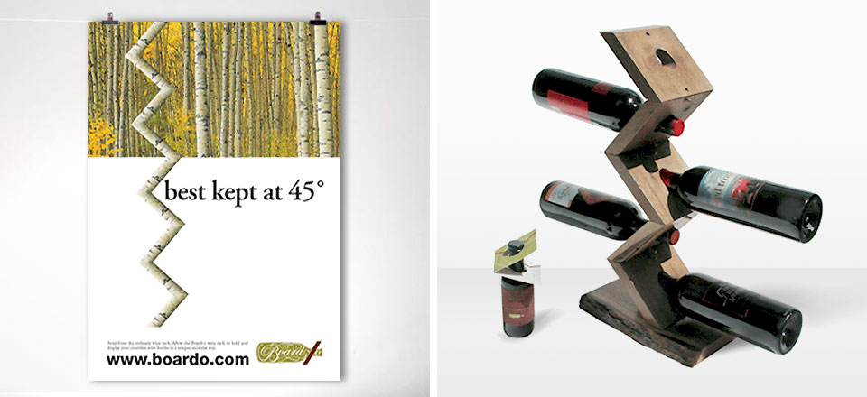 Board-O Modular Wine Rack