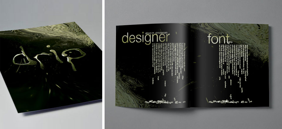 Drip - Book Design