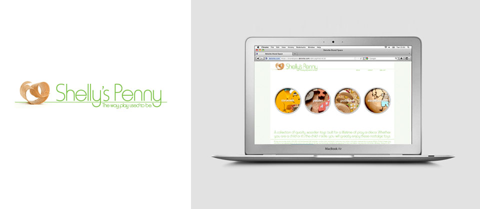 Shelly's Penny | Website Design