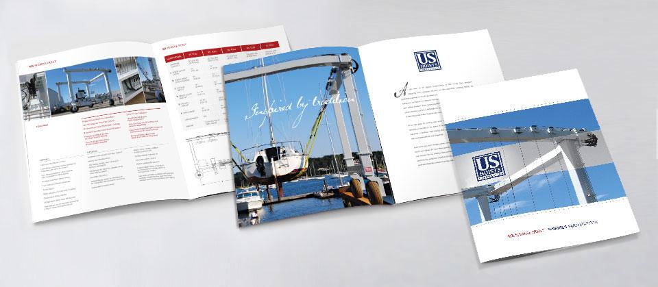 US Hoists Corp. Brochure Design