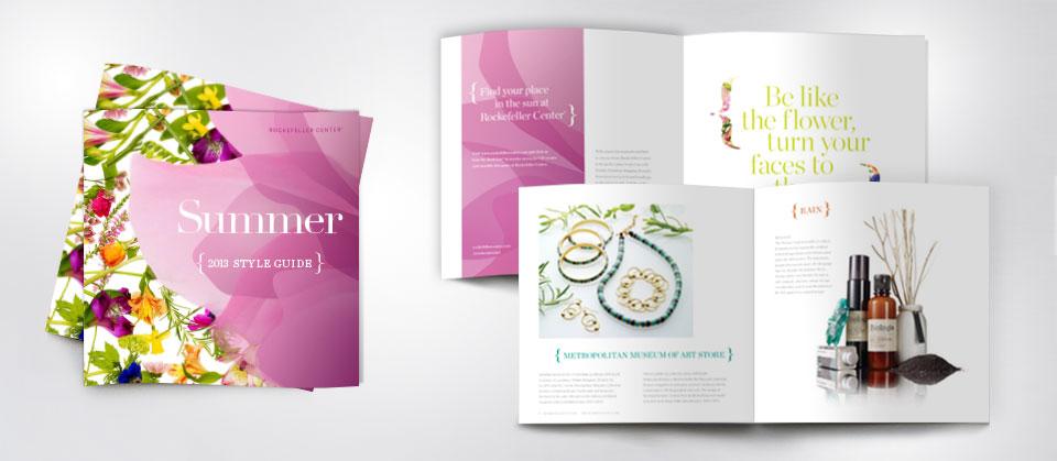 Rockefeller Center 2013 Summer Style Guide