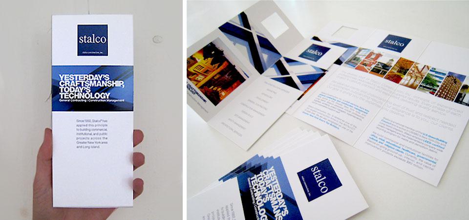 Stalco Construction | Brochure Design
